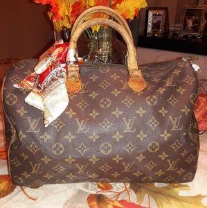 💯Authentic Louis Vuitton Speedy 35 🎃